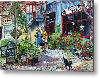 Metal Print featuring the painting Daytripper  by Margit Sampogna