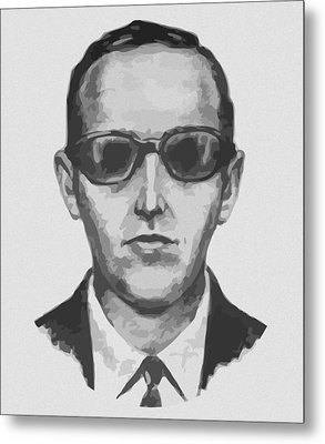 Db Cooper Metal Print by War Is Hell Store