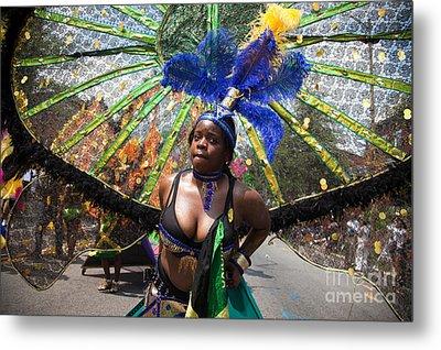 Dc Caribbean Carnival No 12 Metal Print by Irene Abdou