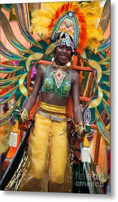 Dc Caribbean Carnival No 16 Metal Print by Irene Abdou