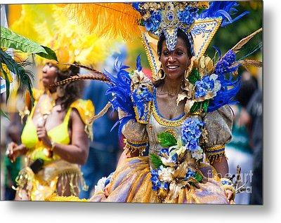 Dc Caribbean Carnival No 19 Metal Print by Irene Abdou