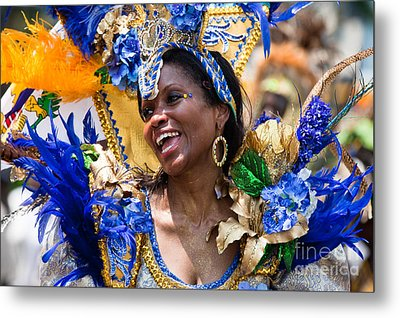Dc Caribbean Carnival No 20 Metal Print by Irene Abdou