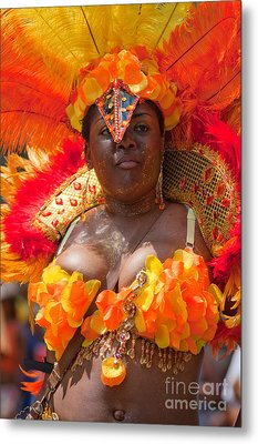 Dc Caribbean Carnival No 23 Metal Print by Irene Abdou