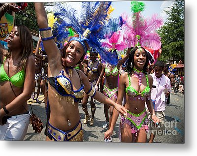 Dc Caribbean Carnival No 8 Metal Print by Irene Abdou