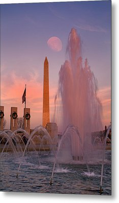 Dc Sunset Metal Print by Betsy Knapp