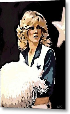Dcc Legend Dk Metal Print by Carrie OBrien Sibley