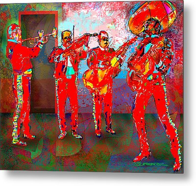 De Colores Metal Print by Dean Gleisberg