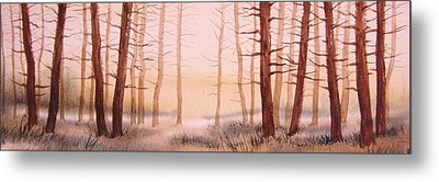 Dead Forest Metal Print by Kevin Heaney