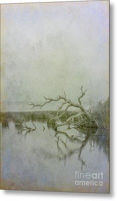 Metal Print featuring the digital art Dead In The Water by Randy Steele