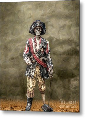 Dead Men Tell No Tales Metal Print