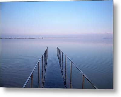 The Dead Sea Metal Print by Yoel Koskas