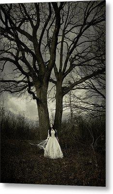 Dead Tree Metal Print