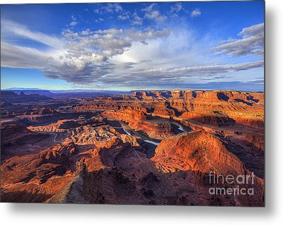 Metal Print featuring the photograph Dead Horse Point Sunrise by Spencer Baugh