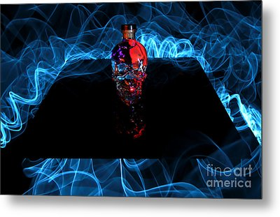 Deadly Drinks Metal Print by Roddy Atkinson