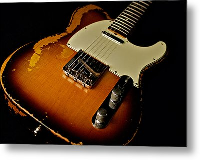 Dean Deleo - 1967 Fender Telecaster Metal Print by Lisa Johnson