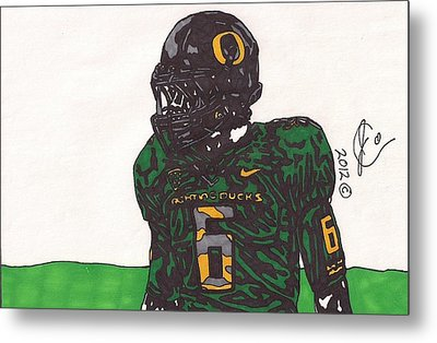 De'anthony Thomas 2 Metal Print by Jeremiah Colley