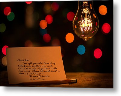 Metal Print featuring the photograph Dear Editor by Chris Bordeleau