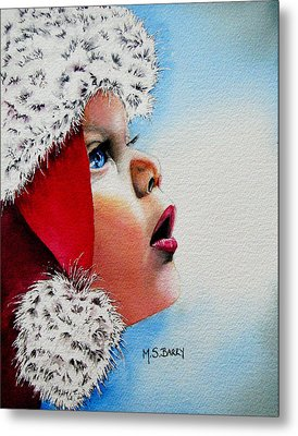 Dear Santa Metal Print by Maria Barry
