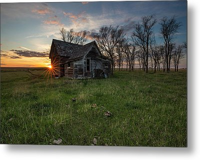 Metal Print featuring the photograph Dearly Departed by Aaron J Groen