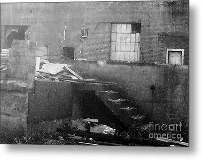 Death Of A Factory Metal Print by Reb Frost