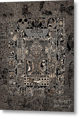 Death Of The King Metal Print by Michael Kulick