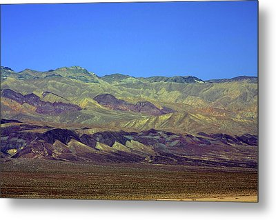 Death Valley - Land Of Extremes Metal Print