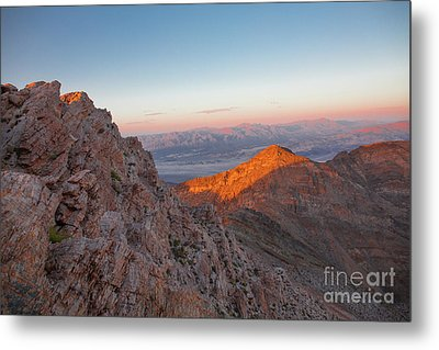 Death Valley 4 Metal Print by Blake Yeager