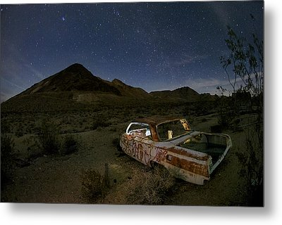 Death Valley Drive-in Metal Print