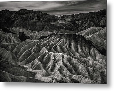 Death Valley Formation Metal Print by Joseph Smith