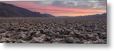 Metal Print featuring the photograph Death Valley by Patrick Downey