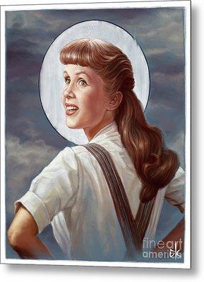 Debbie Reynolds Metal Print by Andre Koekemoer