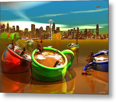 Decaffeinated Metal Print by Williem McWhorter