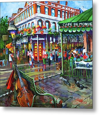 Metal Print featuring the painting Decatur Street by Dianne Parks