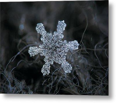 December 18 2015 - Snowflake 1 Metal Print