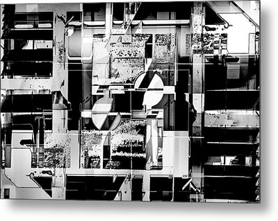 Decentralized Metal Print by Don Gradner