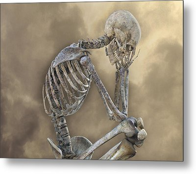 Decisions Metal Print by Betsy Knapp