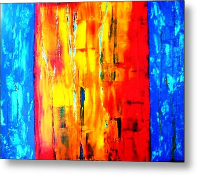 Metal Print featuring the painting Deep Bond by Piety Dsilva