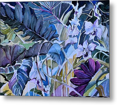 Metal Print featuring the painting Deep Dreams by Mindy Newman