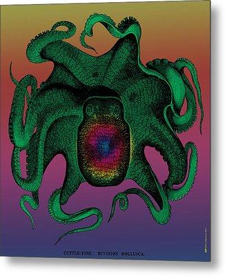 Deep Monster Number Two Metal Print by Eric Edelman