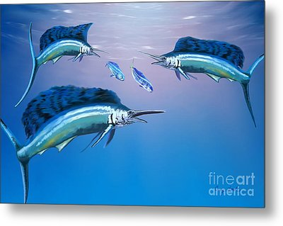 Deep Ocean Metal Print by Corey Ford