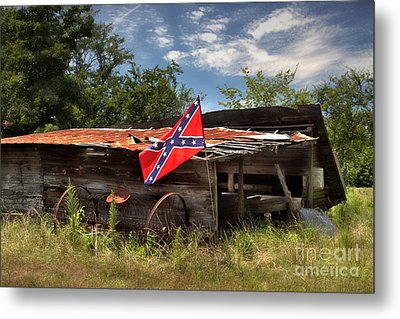 Deep South Farm Metal Print