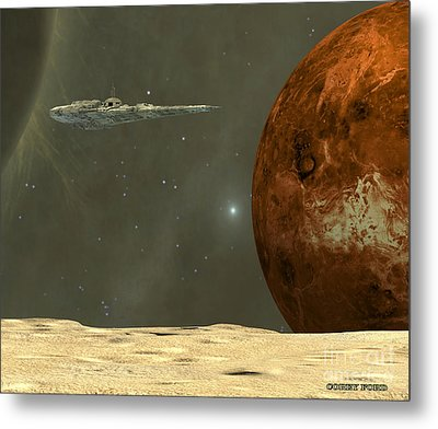 Deep Space Metal Print by Corey Ford