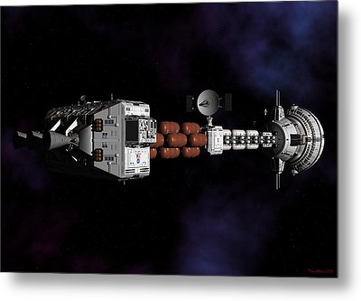 Deep Space Metal Print by David Robinson