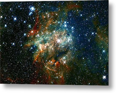 Deep Space Star Cluster Metal Print by Jennifer Rondinelli Reilly - Fine Art Photography