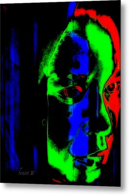 Deeper Thoughts Metal Print by Fania Simon