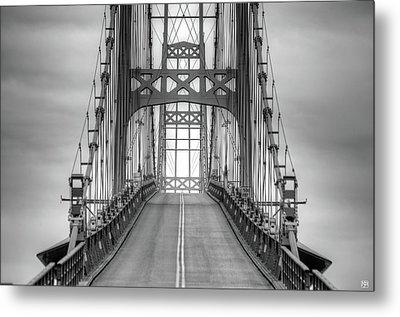 Deer Isle Sedgwick Bridge Metal Print