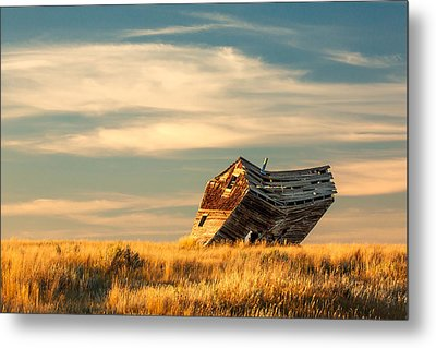 Defying Gravity Metal Print