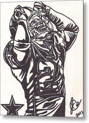 Deion Sanders Metal Print by Jeremiah Colley