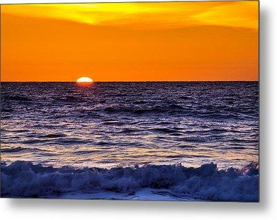 Del Mar Sunset, View 2 Metal Print