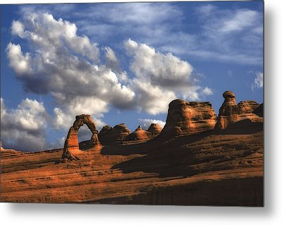 Delicate Arch In Arches National Park Metal Print by Utah Images